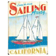 Sailing Away Wall Art