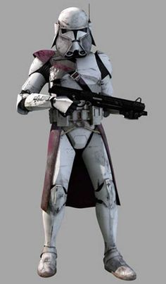 Clone Commander Bacara, Star Wars
