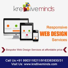 Bespoke #Web #Design #Services at #affordable #price.