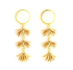 Sylvia Benson Swift Earrings in Mother of Pearl Available at Splurge.  704.370.0082