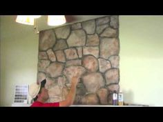 How to paint faux flagstones on plywood flooring . Photos tips and instructions for creating your own DIY faux stone using simple materials. Wood Grain Texture, Stone Texture, Stone Painting, Diy Painting, Crystal Illustration, Faux Stone Walls, Flagstone Flooring, Stone Veneer, Old Stone