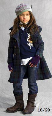 Gabriella Jones  for Ralph Lauren Kids, 2008