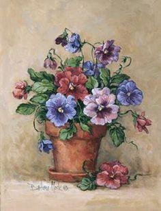 Barbara Mock - Viola Pot - art prints and posters