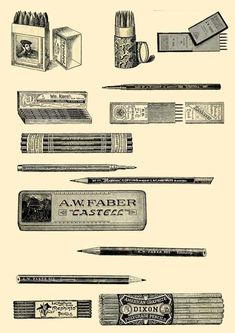 Vintage Art, Vintage Photos, Different Types Of Painting, Led Pencils, Artist Materials, Picture Boxes, Black And White Sketches, Artist Supplies, Polychromos