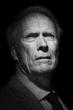Clint Eastwood (1930) - American actor, film director, producer and composer. Photo © Nigel Parry