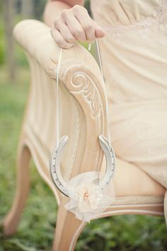 The beautiful new collection of lucky wedding horseshoes from Silver Sixpence in Her Shoe