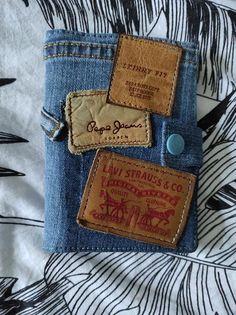 Portefeuille Compère en jean recyclé cousu par Gaëlle - Patron Sacôtin