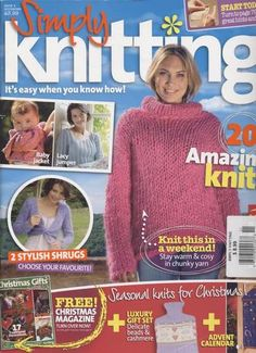 Ravelry: Simply Knitting 8, November 2005
