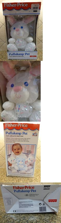 Fisher Price 95267: Nib Fisher Price Puffalump Pet Bunny Rabbit 1214 C1994 Plush Rattle Lovey Toy -> BUY IT NOW ONLY: $99.95 on eBay!