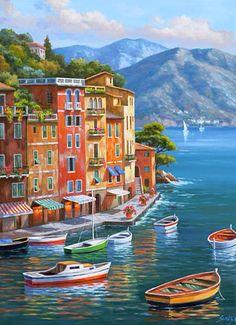The Bright Colours Of The Mediterranean~ Kim Sung