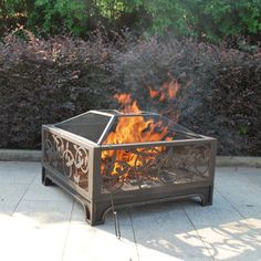 Outdoor wood burning fireplace wood burning fireplaces for Foyer exterieur costco