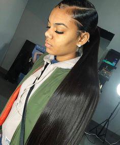 Quality Jingleshair cheap Brazilian Human Hair Wigs Brazilian Remy human hair Lace Front Wigs smooth Straight wholesale for afro women Ponytail Styles, Ponytail Hairstyles, Weave Hairstyles, Black Hairstyles, Side Ponytails, Hairstyles Men, Baddie Hairstyles, Protective Hairstyles, Hairstyle Ideas