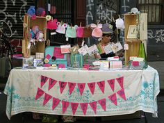 craft show display | NYCrochet and I at our first craft fair… | cutiepie company | Flickr