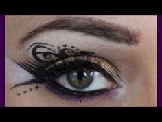 Maquillaje Drámatico: Oro Místico {teatral}