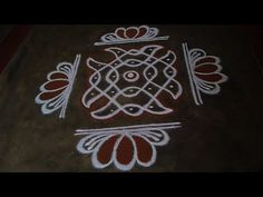 Simple Rangoli Border Designs, Rangoli Designs Flower, Rangoli Borders, Free Hand Rangoli Design, Small Rangoli Design, Rangoli Patterns, Rangoli Designs Diwali, Rangoli Designs With Dots, Rangoli With Dots