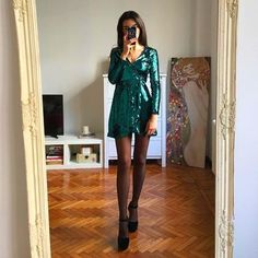 The relief when you find your dream Christmas party outfit 🙌🏻🎄✨🎉perfect paillettes dress and earrings from . Cute Girl Outfits, Summer Outfits, Casual Outfits, Fashion Outfits, Summer Clothes, Malibu Outfit, Christmas Party Outfits, Kardashian Style, Colourful Outfits