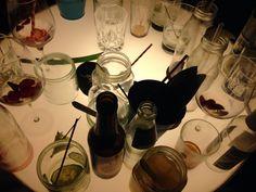 Decent Cocktails served in jar glasses, Zephyr Bar Munich Munich, Four Square, Cocktails, Jar, Glasses, Projects, Cocktail Parties, Eyeglasses, Cocktail