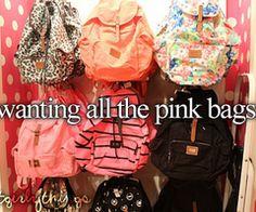 #pink Bags | via Tumblr