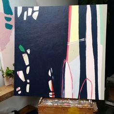 91cm x 91cm - acrylic on canvas CARLY WILLIAMS -ARTIST