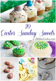 20 Easter Sunday Sweets