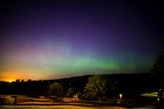"""In Duvall, Wash., the Northern Lights begin to """"dance along the horizon"""" just after sunset on June 22, 2015.  Matthew Charchenko, Your Take"""