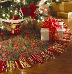 Elegant Christmas Tree Skirts.184 Best Lovely Christmas Tree Skirts Ribbon And Stockings