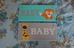 Baby Door plaque baby Door sign. Nursery decor baby shower