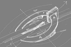 Arcade Architecture, Bridges Architecture, Minimalist Architecture, Islamic Architecture, Landscape Architecture, Architecture Design, Entrance Design, Gate Design, Kindergarten Design