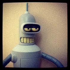 Bender #futurama - @cintascotch- #webstagram