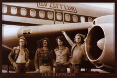 Led Zeppelin On Tour Poster - Jimmy Page, Robert Plant, John Paul Jones, John Bonham - Music Posters. John Paul Jones, John Bonham, Jimmy Page, Robert Plant, Led Zeppelin Poster, Rock And Roll, Ozzy Osbourne, Jimi Hendrix, Classic Rock