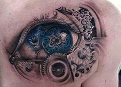 Amazing Eye with a Mechanical Twist