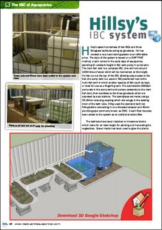 IBC Aquaponics. http://www.thecarystore.com/containers-categories/packaging-and-containers-ibcs-intermediate-bulk-containers