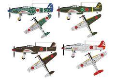 WWII Kawasaki Ki-61 Hien Tony Fighter Ver.2 Free Aircraft Paper Model Download