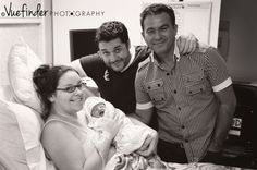Surrogacy for Two Dads {Rare Purple Line Picture!} - Birth Without Fear