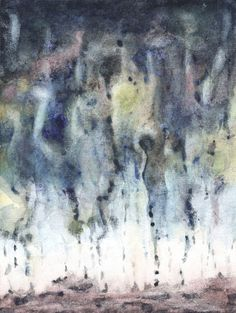 Abstract landscape fine art print Statement decor by RhymingScapes