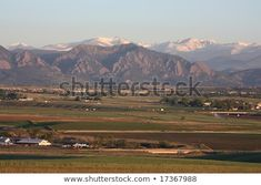 Colorado front range of the rocky mountains and Boulder FlatIrons as seen at sunrise in early summer from Broomfield, Colorado Colorado Country, Colorado Rockies, Boulder Flatirons, Southern Mansions, Front Range, Mountain Range, National Forest, Rocky Mountains