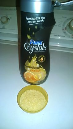 Ad: Carter Chaos review and #giveaway (ends 10.31.14) of new Purex Crystals Aromatherapy.