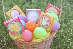 Easter Sucker Covers from Dimple Prints