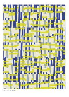 ask Textile designer All designs by Julie Hermant © Textile Pattern Design, Surface Pattern Design, Textile Patterns, Textile Prints, Abstract Pattern, Print Patterns, Textiles, Color Patterns, Illustration Française