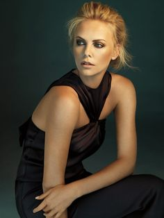 Charlize Theron | Photography by Alexi Lubomirski | For Dior | 2009