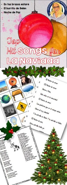 n this resource I have included activities for the all-time top 3 favorite Christmas songs in my classes. We do one of these each week during December in Spanish 2 and they are always much-requested in subsequent years!