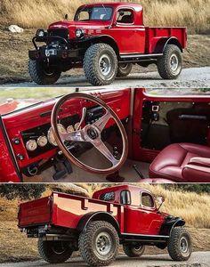 Mostly Mopar Muscle Custom Pickup Trucks, Vintage Pickup Trucks, Classic Pickup Trucks, Antique Trucks, 4x4 Trucks, Diesel Trucks, Cool Trucks, Old Dodge Trucks, Dodge Power Wagon