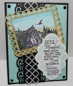ODBDSLC151 Cherish God's Creations - Stamps Our Daily Bread Designs Keep Climbing