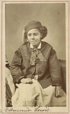 Edmonia Lewis 1844-1907 [Lesbian] -as the first African American and Native American woman to gain fame and recognition as a sculptor in the international fine arts world.