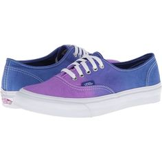 Vans Authentic Slim Hollyhock/Surf the Web) Skate Shoes, Purple (40 CAD) ❤ liked on Polyvore featuring shoes, sneakers, vans, flats, zapatos, purple, flat pumps, flats sneakers, skate shoes and purple flats