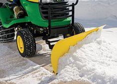 John Deere 44-inch Front Blade Gardening & Ground Engagement Riding Mower Attachments