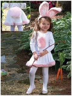 This adorable bunny is ready to hop around! Bunny Kids Halloween Costume for Girls includes furry pink bunny ears headband, white bodysuit with fuzzy pink embellishments,. Girls Bunny Costume, Bunny Halloween Costume, Easter Bunny Costume, Scary Halloween Pumpkins, Kids Costumes Girls, Toddler Costumes, Family Costumes, Halloween Costumes For Girls, Girl Costumes