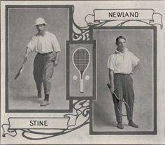 UO Tennis 1910-11.  From 1912 Oregana (UO Yearbook).  www.CampusAttic.com