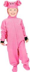 Dressing as a pig can be the perfect baby costume. Of course you can go as a pig as an adult as well if you wish. We have one idea for how to create a pig costume below to help you out. Peppa Pig Halloween Costume, Best Toddler Costumes, Great Halloween Costumes, Halloween 2019, Halloween Ideas, Adult Halloween, Farm Costumes, Farm Animal Costumes, Costume