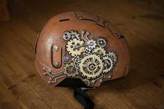 steampunk handpainted ski helmet uniposca project #uniposca #skihelmet #painted #poscacz #posca #poscaart